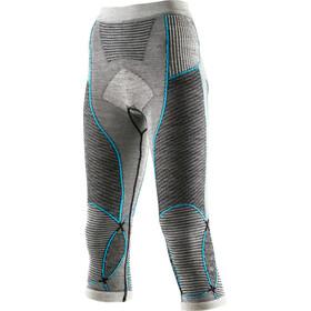 X-Bionic Apani Merino By Fastflow UW Medium Pants Women Black/Grey/Turquoise